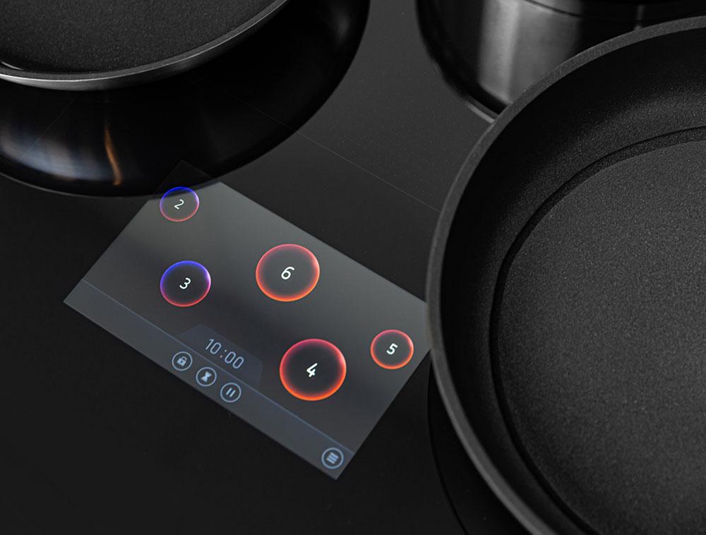 kitchen appliance TFT digital display touchscreen